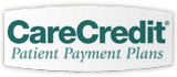 Image demonstrating that HighPointe Dental in Thornton, CO takes Care Credit Patient Payment Plans.