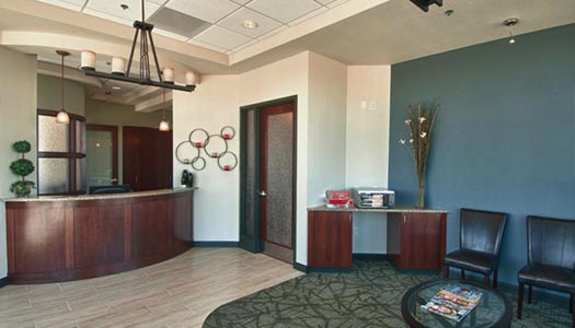 HighPoint Dental Waiting room in Thornton, CO
