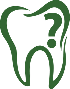 Image of a tooth with a question mark in it for FAQ Entry
