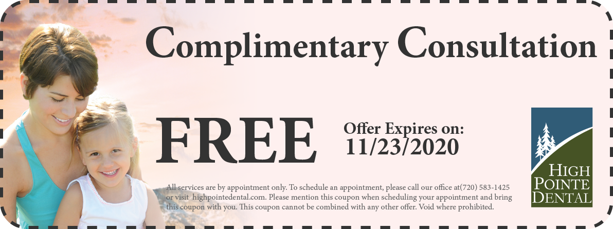 Coupon:   - High Pointe Dental, Thornton, CO