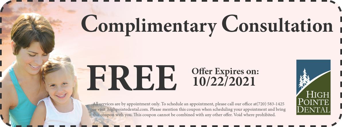 Coupon:   - High Pointe Dental, Thornton, CO